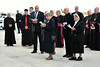 Clergy leading the congregation in prayer before the arrival of Pope Francisphoto by Rob Rich/SocietyAllure.com © 2015 robwayne1@aol.com 516-676-3939