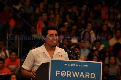 President Obama in Miami 10.11.12