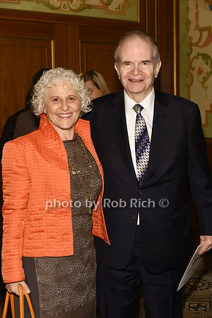 Jeanne Strauss, Paul Steiger photo by Rob Rich/SocietyAllure.com ©2017 robrich101@gmail.com 516-676-3939
