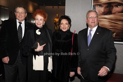 Tom Sherak, Arlene Dahl, Liza Minnelli, Mark Ackermann photo by Rob Rich © 2010 robwayne1@aol.com 516-676-3939