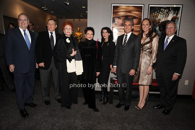 Roger Goldman, Tom Sherak, Arlene Dahl, Liza Minnelli, Katherine Oliver, Charles Cohen, Clo Cohen, Mark Ackermann photo by Rob Rich © 2010 robwayne1@aol.com 516-676-3939