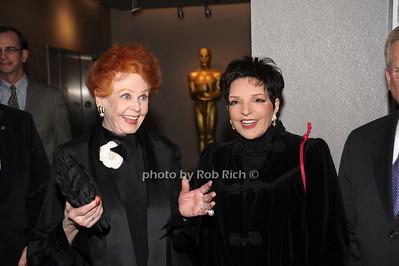 Arlene Dahl, Liza Minnelli photo by Rob Rich © 2010 robwayne1@aol.com 516-676-3939
