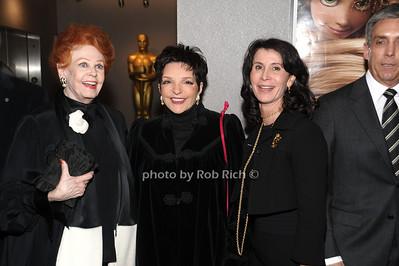 Arlene Dahl,,Liza Minnelli, Katherine Oliver photo by Rob Rich © 2010 robwayne1@aol.com 516-676-3939
