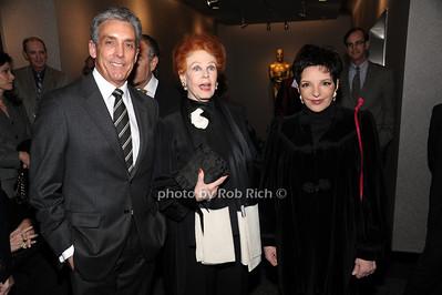 Charles Cohen, Arlene Dahl, Liza Minnelli photo by Rob Rich © 2010 robwayne1@aol.com 516-676-3939