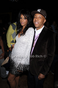 Veronica Webb, Russell Simmons