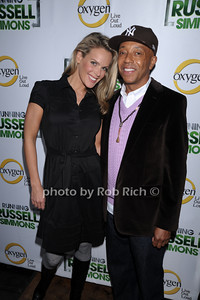 Heidi Albertsen, Russell Simmons photo by Rob Rich © 2010 robwayne1@aol.com 516-676-3939