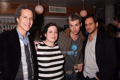 Daniel Glass, Amy Grimm, John Vesely, Todd Moskowitz photo by Rob Rich © 2008 robwayne1@aol.com 516-676-3939