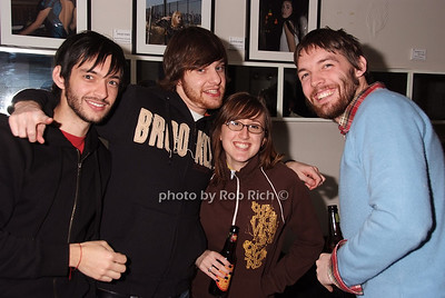 David Cades, Reid Fisher, Jessica Sheck, Will Van Dyke photo by Rob Rich © 2008 robwayne1@aol.com 516-676-3939