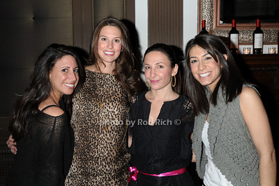 Farah Ferenco, Erin Tracy, Claudia Baricevic, Marzi Alavi photo by Rob Rich © 2011 robwayne1@aol.com 516-676-3939