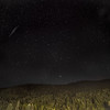 Perseid Meteor Shower over Shambhala
