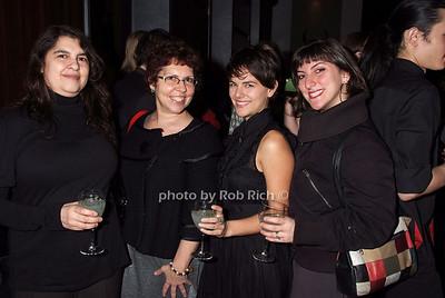Ella Troyano, Alina Troyano, Nicole Brucato, Rebecca Krauss photo by Rob Rich © 2008 robwayne1@aol.com 516-676-3939