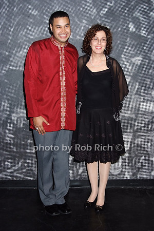 Rajendra Ramoon Maharaj, Donna Trinkoff  photo  by Rob Rich © 2008 robwayne1@aol.com 516-676-3939