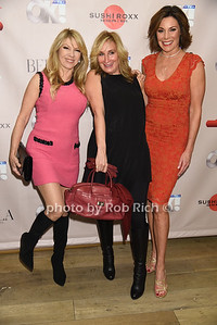 Ramona Singer, Sonja Morgan, Countess Luann de Lesseps photo by Rob Rich/SocietyAllure.com © 2015 robwayne1@aol.com 516-676-3939