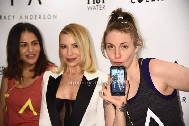 Jenni Konner,Tracy Anderson, Lena Dunham