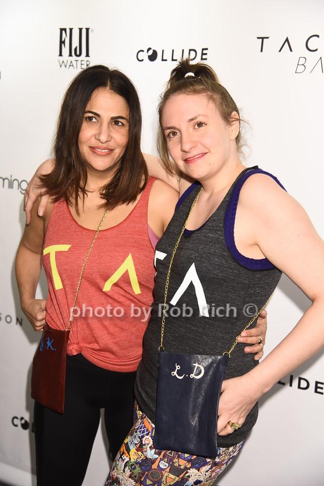 Jenni Konner,Lena Dunham photo by Rob Rich/SocietyAllure.com © 2017  robrich101@gmail.com 516-676-3939