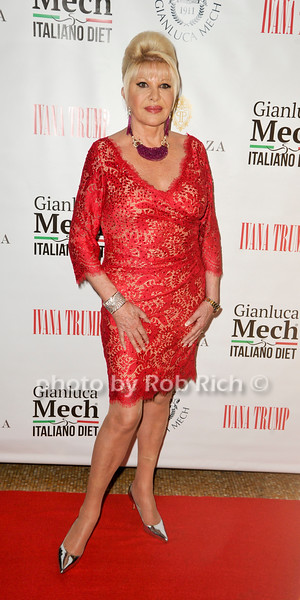 USA Launch of the Italiano Diet with Ivana Trump & Gianluca Mech
