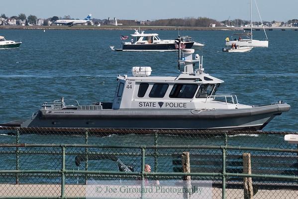USS Constitution Turn Around