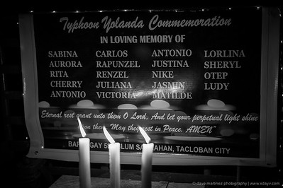 Yolanda Candlelight Memorial