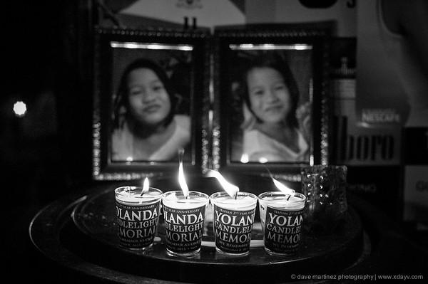 Yolanda Candlelight Memorial