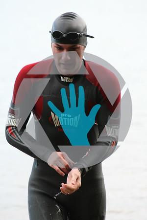 Duck Bill Thrill Triathlon - Start & Swim