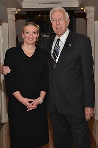 Dr. Claudia Hillinger & George Elmore.