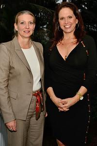 Claudia Hillinger & Toni May.