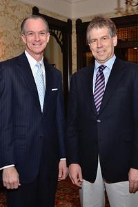Perry Brown & Dr. Tobias Bonhoeffer.