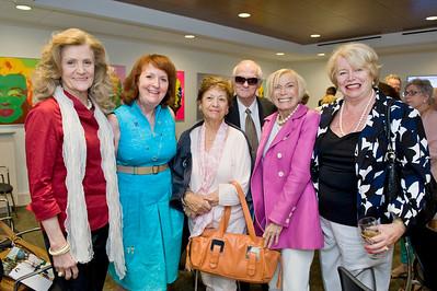 Sandra Blair, Carolyn Sloane, Roberta Manbirno, Dr. William Adkins, Bobbi Horwich & Ellen Tansey.