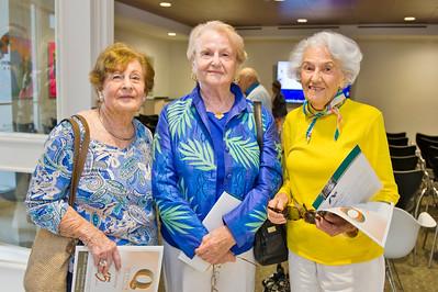 Shirley Weiner, Shirley Kane & Sylvia Bernstein.