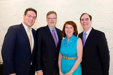 Kevin Sloane, Dr. David Fitzpatrick, Carolyn Sloane & Richard Sloane.
