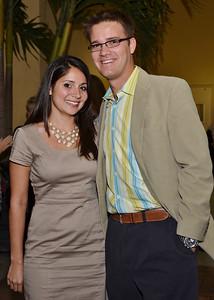 Tess Lazano & Brian Sina.