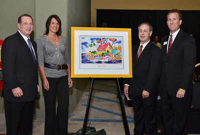 The unveiling of the official commemorative poster for this year's ArtiGras 2012.
