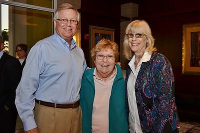 Brian Cottrell, Kay Hicks & Barbara Cottrell.