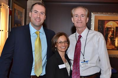 Robert Longchamps, Donna Goldfarb & Eddie Tybuszynski.