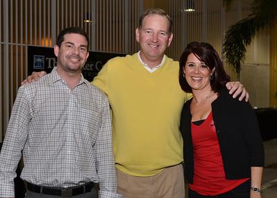 Jonathan Miller, Pat Rooney & Alexis Barbish.