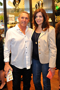 Brian Hill and DIna Lauro