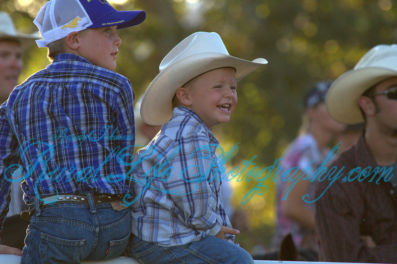 The Brightest Smile of the day goes to this cowboy.