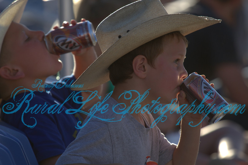 These young Cowboys love There A&W Root beer.