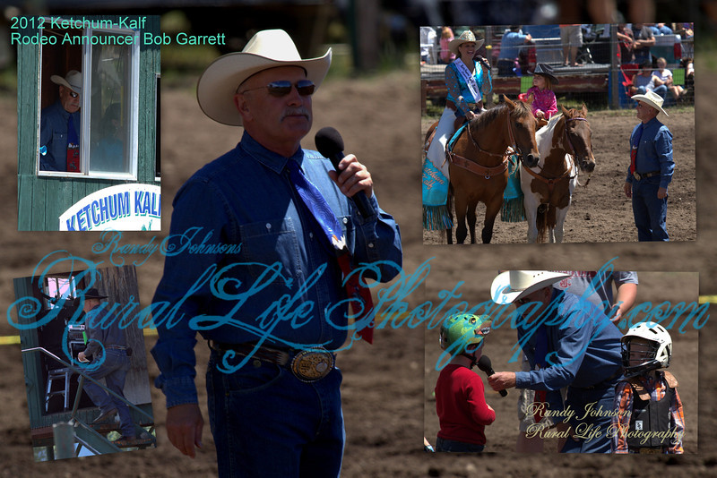 When we attend Rodeos we don't always think about who makes it all come together for our entertainment, Thanks to Announcer Mr. Bob Garrett