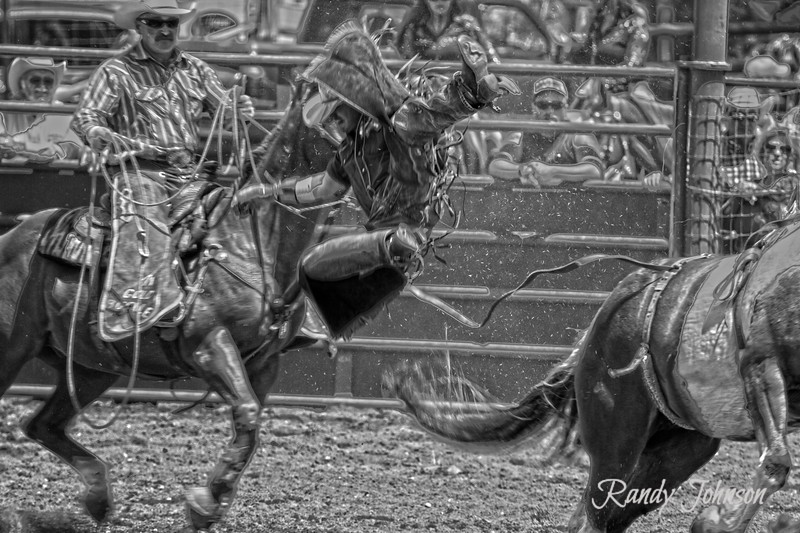 Joe Patnode at work 2012 Ketchum Kalf Rodeo