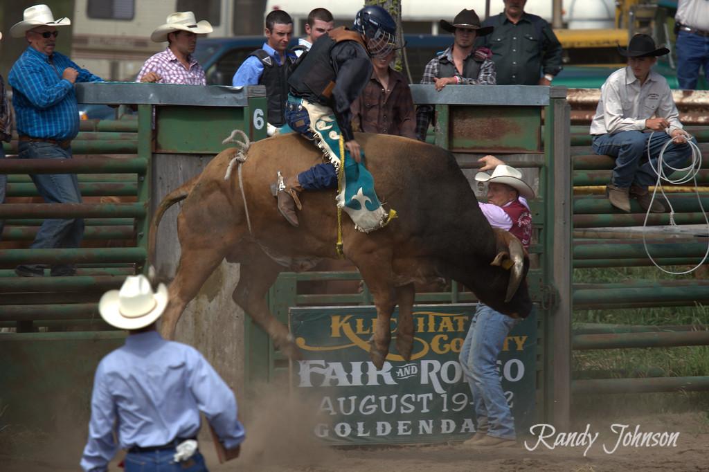 The Floating Bull 2012 Ketchum Kalf Rodeo