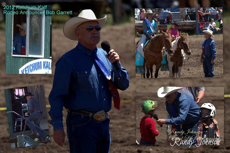 When attending Rodeos we don't always think about who makes it all come together for our entertainment, Thanks to Announcer Mr. Bob Garrett