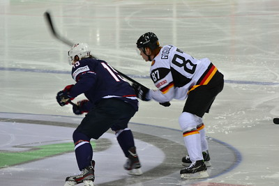 Hockey WM 2013 , USA vs. GER