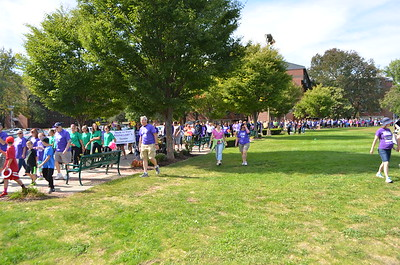 There were 1,146 registered walkers out that day supporting the cause at Siena college