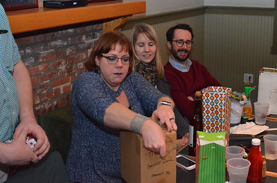 Who stole Beth's beer?  What's in the box!