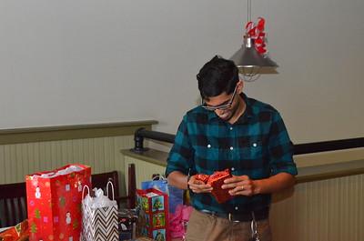 Randy picks a new present.