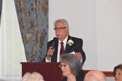 Anthony Zibella is master of ceremonies.