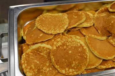 IHOP donated batter once again to our breakfast feast.