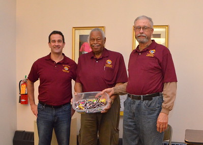 Goeff Cramer, Vernon Symes and Larry LaChance on Candy Duty.