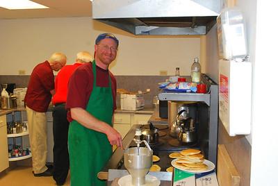 John - our pancake master.